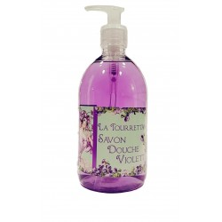 Savon douche à la violette