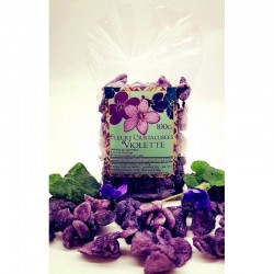 Fleurs de violettes...