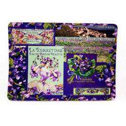Tapis souris violettes de...