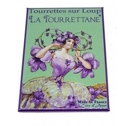 Magnet violettes de Tourrettes